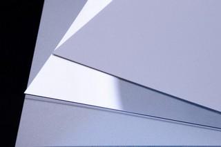 Polycarbonatfolie: Weiß opal - Lichtstreuung