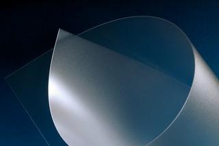 Polycarbonatfolie - UL 94 V0  - farblos / matt