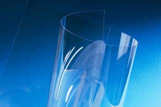 Polyesterfolie: glasklar / bedruckbar / temperaturstabil